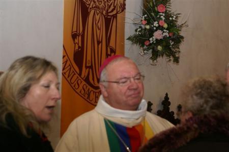 L'évêque inflexible...