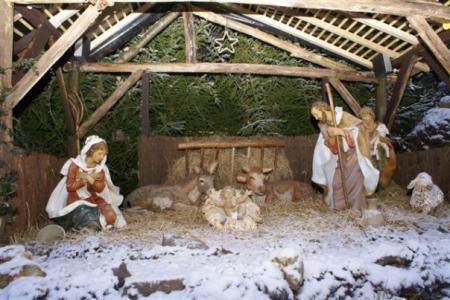 La crèche de Noël 2009