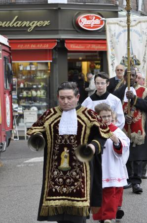 4 avril 2010 - procession de Pâques